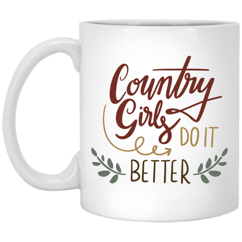 Country Girls Do it Better  Mug