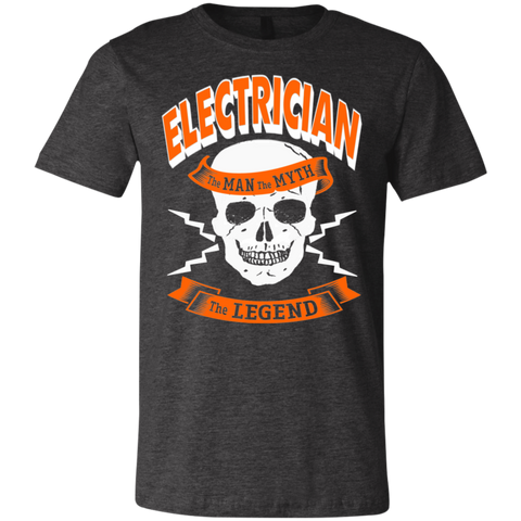 Electrician The Man The Myth  The Legend  T-Shirt