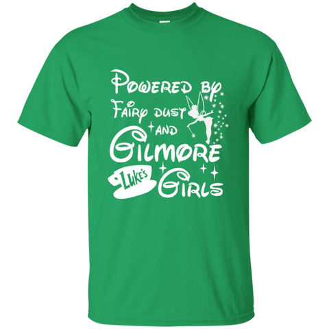 Powered By Fairy Dust And Gilmore Girls Cotton T-Shirt