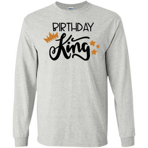 Birthday king LS   T-Shirt