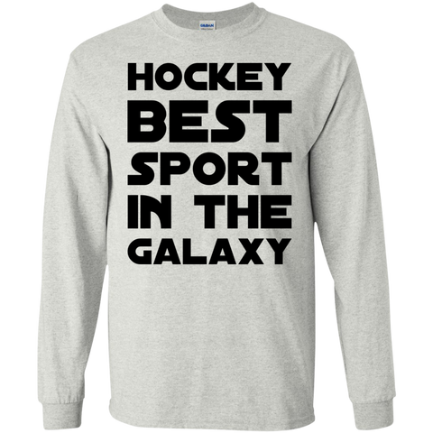 Hockey Best Sport in the Galaxy LS  Tshirt