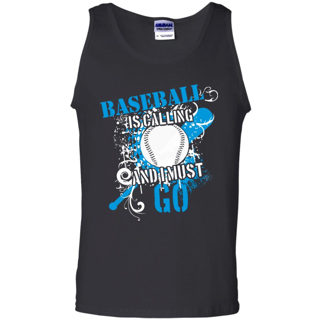 Baseball is calling and I must go  Tank Top