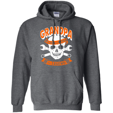 Grandpa The Man The Myth The Legend  Hoodie 8 oz