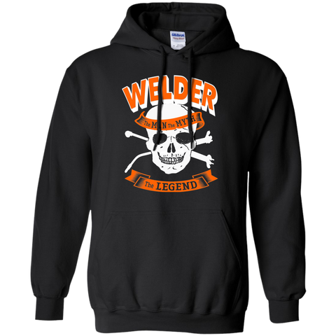 Welder The Man The Myth The Legend   Hoodie