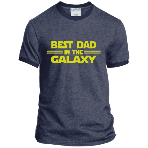 Best Dad in the Galaxy Ringer Tee