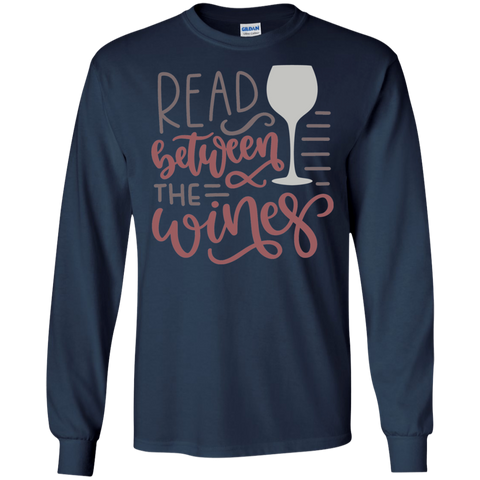 Read between the wines LS Tshirt