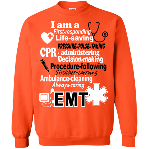 EMT Poems sayings  Sweatshirt