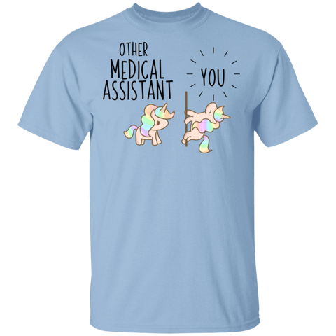 Medical Assistant Party Unicorn T-Shirt