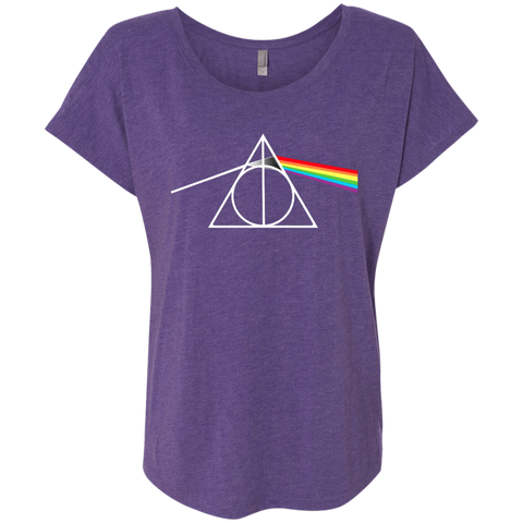 DARK SIDE OF THE HALLOWS   Triblend Dolman Sleeve
