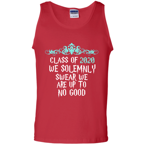 Class of 2020 We Solemnly Swear We Are Up to No Good ver2 100% Cotton Tank Top