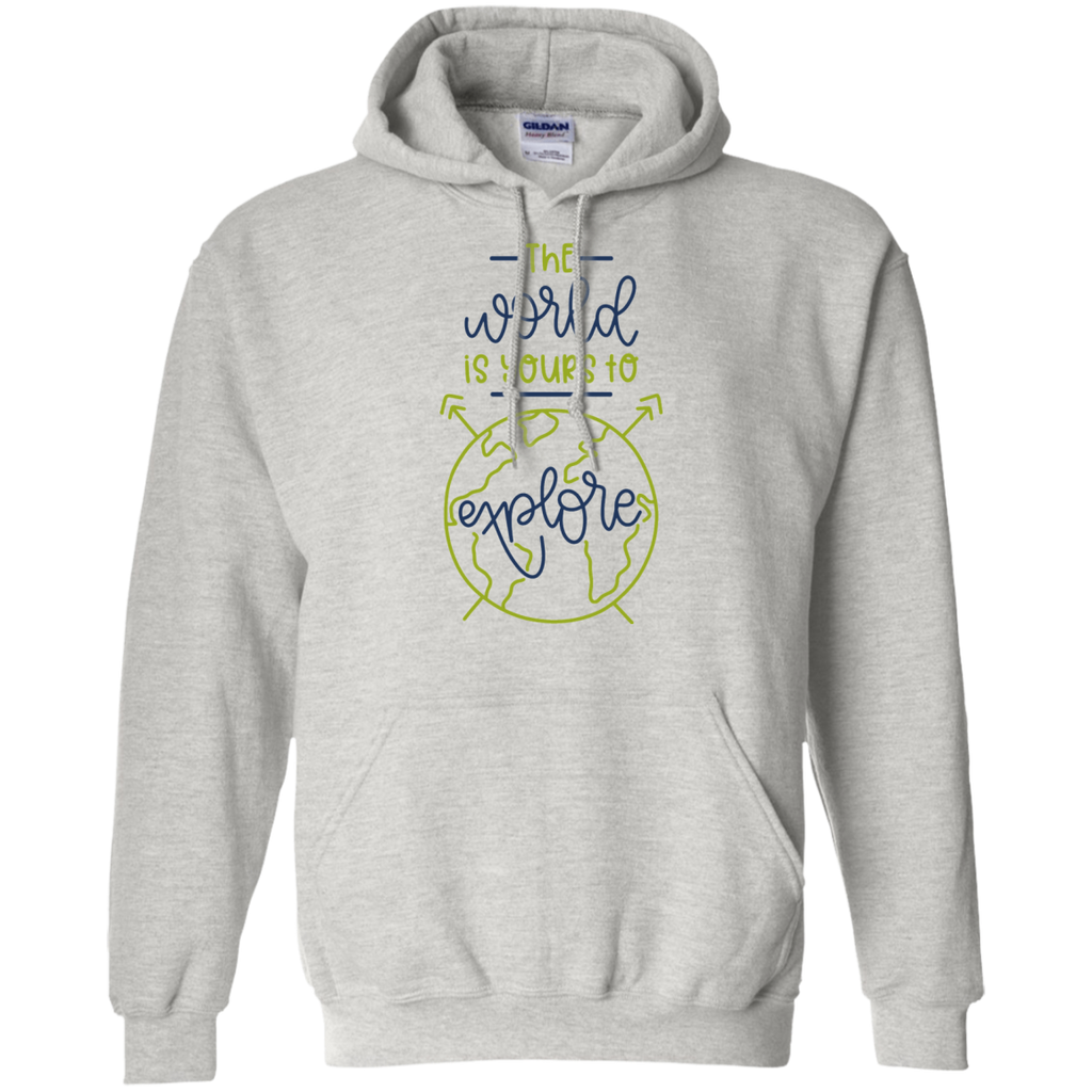 The World is yours to explore Hoodie