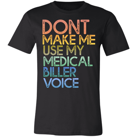 Medical Biller Voice Unisex Jersey Short-Sleeve T-Shirt