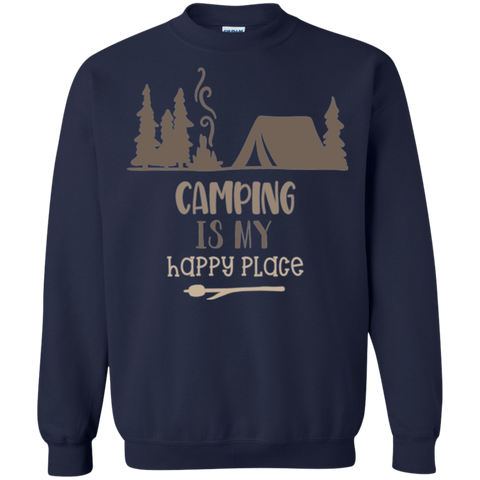 Camping is my Happy Place  Sweatshirt