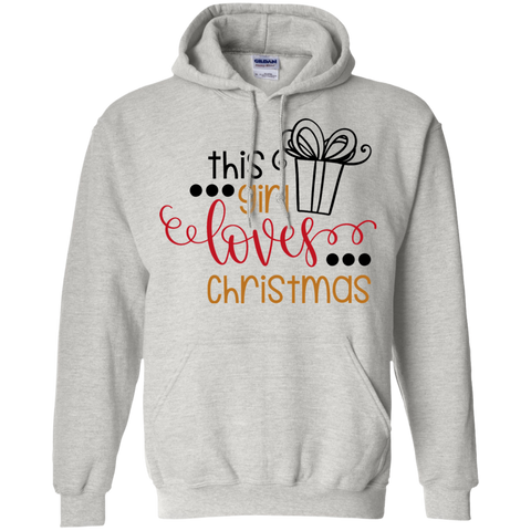 This Girl Loves Christmas Hoodie