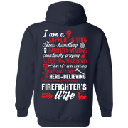 Firefighter Wife  Poems Hoodie