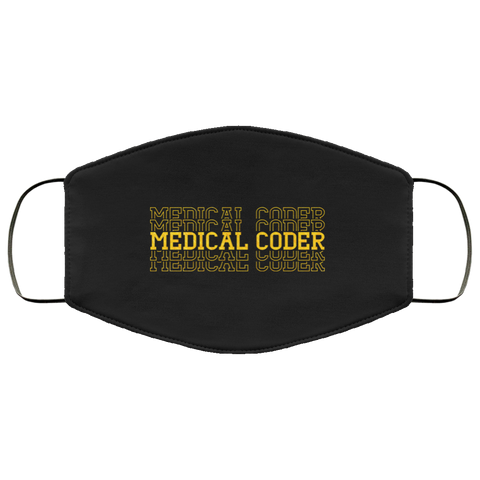 Medical coder repeat  Face Mask