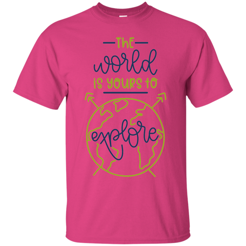 The World is yours to explore  T-Shirt
