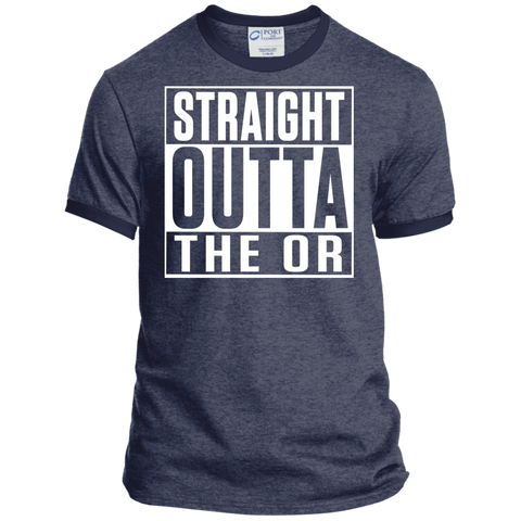 Straight Outta The OR  Ringer Tee