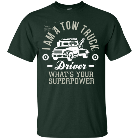 Tow Truck Driver what's your superpower  Cotton T-Shirt
