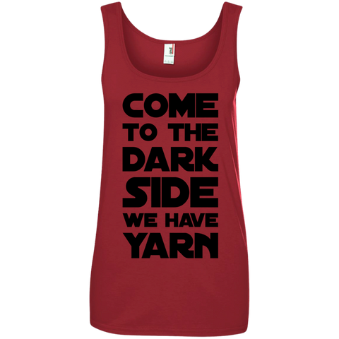 Come to the Dark Side We have Yarn Tank Top