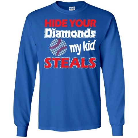 Hide your Diamonds my Kid Steals  Ultra Cotton Tshirt
