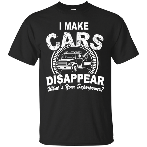 I make cars Disappear   Ultra Cotton T-Shirt