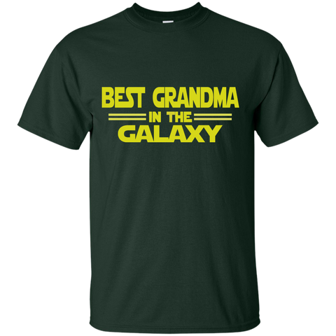 Best Grandma in the Galaxy Cotton T-Shirt