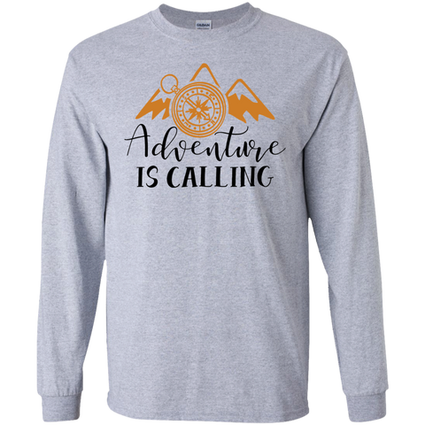 Adventure is calling  LS  T-Shirt