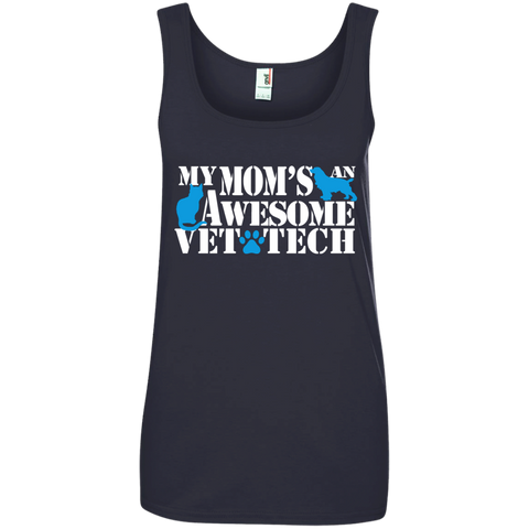 My Mom's an awesome Vet Tech Tank Top