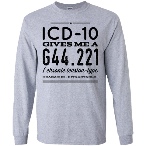 ICD-10 gives me  G44.221 LS   T-Shirt