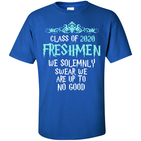 Class of 2020 Freshmen We Solemnly Swear We Are Up to No Good Cotton T-Shirt