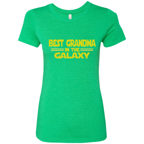 Best Grandma in the Galaxy Next Level Ladies Triblend T-Shirt