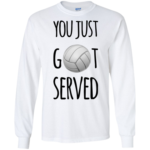 You Just Got Served LS Tshirt