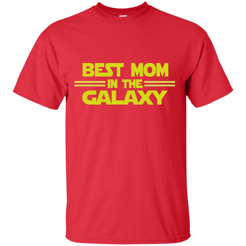Best Mom in the Galaxy Cotton T-Shirt
