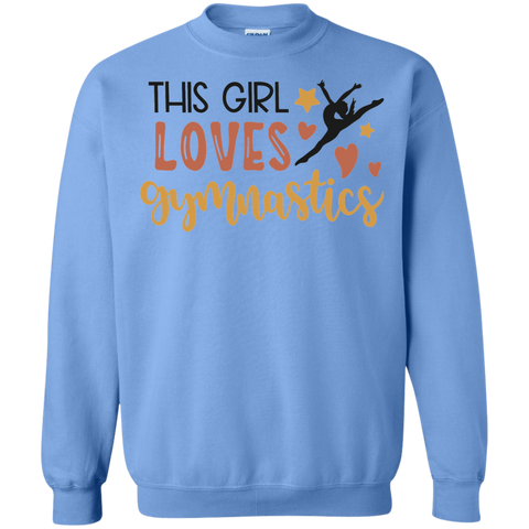 This Girl loves gymnastics Sweatshirt