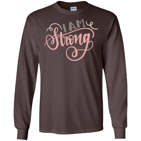 I am Strong LS Tshirt