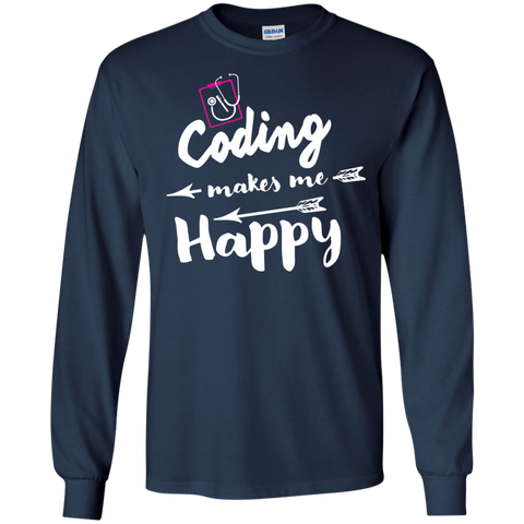 Coding makes me happy  Tshirt