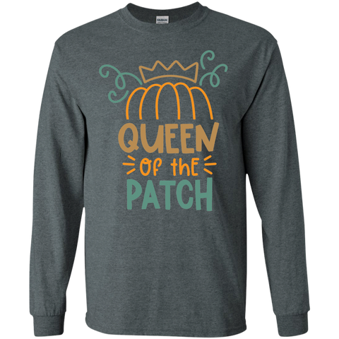 Queen of the Patch   LS Tshirt