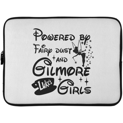 Powered by Fairdust and Gilmore  Girls Laptop Sleeve - 15 Inch