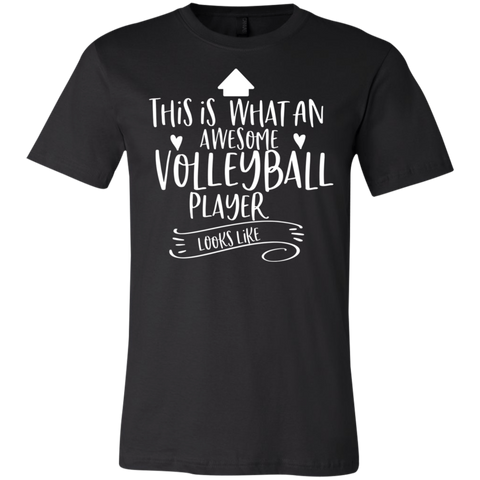 Awesome Volleyball Player .  T-Shirt