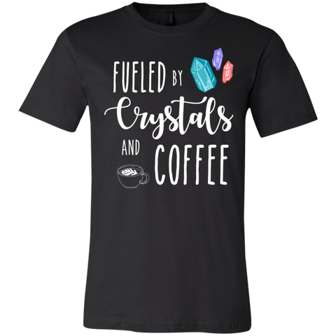 Fueled by crystals and coffee T-Shirt