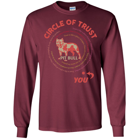 Circle of trust Pit Bull  LS  Tshirt
