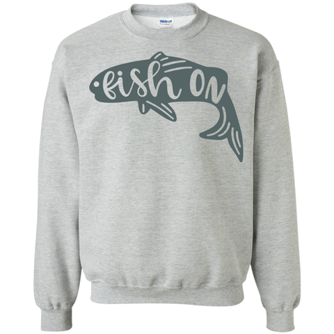 Fish On Sweatshirt
