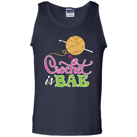 Crochet is Bae  Cotton Tank Top