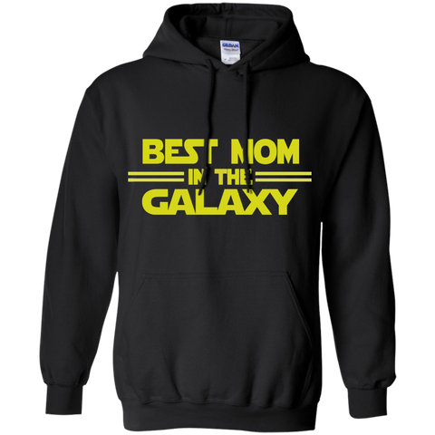 Best Mom in the Galaxy Pullover Hoodie 8 oz