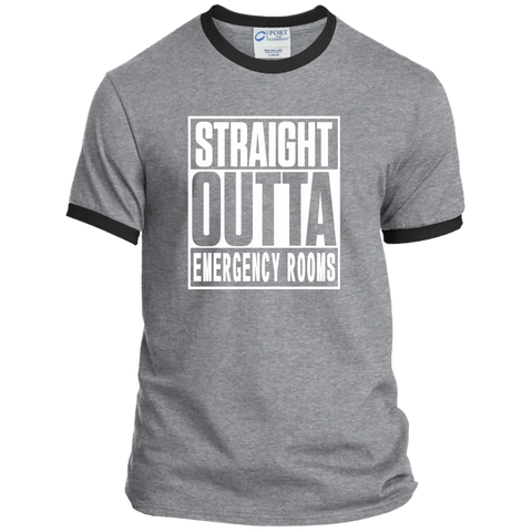 Straight Outta Emergency Rooms Ringer Tee