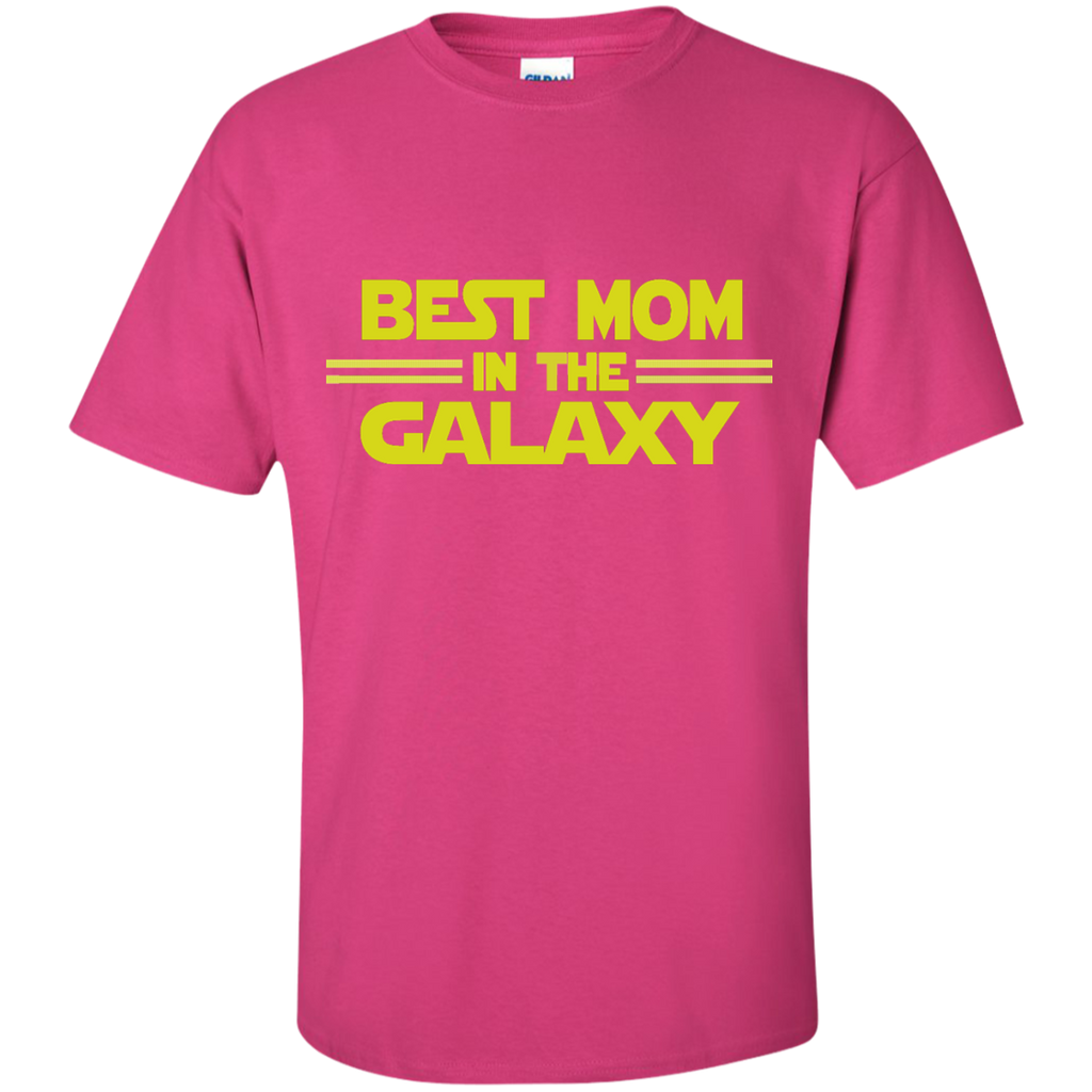 Best mom in the galaxy cotton t shirt teeholic for Pitbull mom af shirt