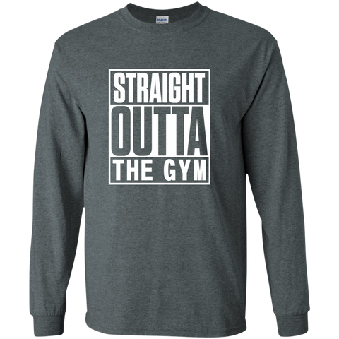 Straight Outta the Gym LS Ultra Cotton Tshirt