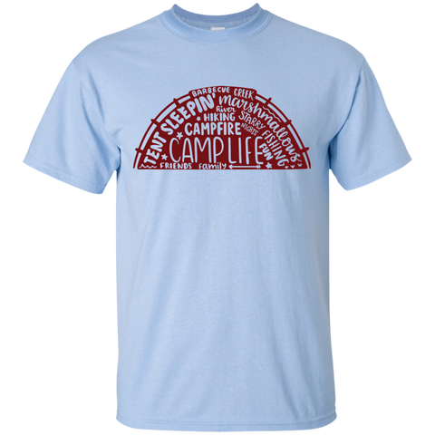 Camp life  words   T-Shirt