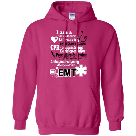 EMT Poems sayings  Hoodie